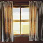 Solopgang sker bag gardiner